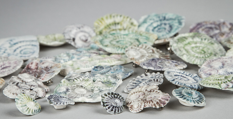 Rose Dickinson Ceramic Plates
